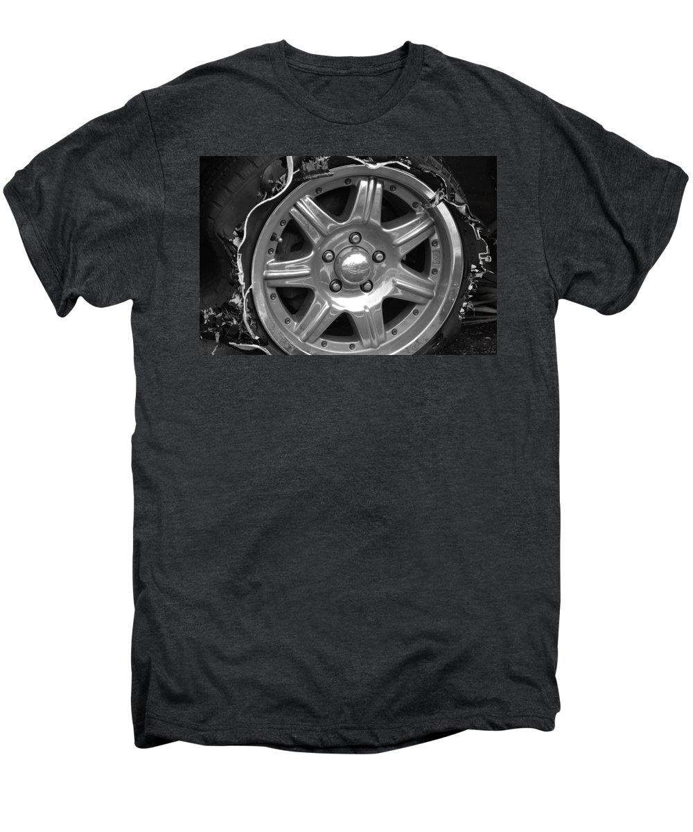 Black And White Men's Premium T-Shirt featuring the photograph Karma Is A Bitch by Rob Hans
