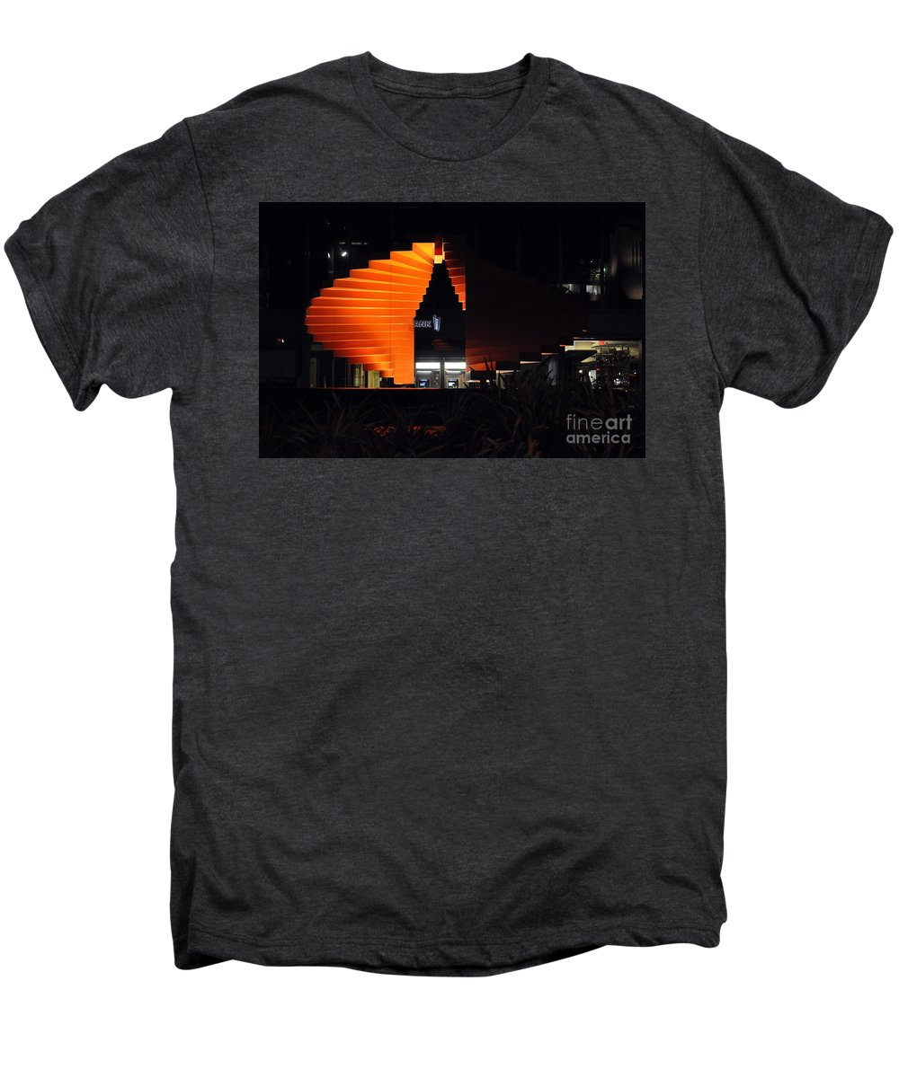 Clay Men's Premium T-Shirt featuring the photograph L.a. Nights by Clayton Bruster