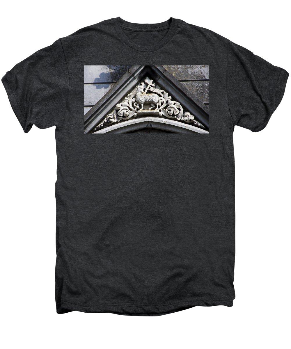 Ireland Men's Premium T-Shirt featuring the photograph Lamb Of God by Teresa Mucha