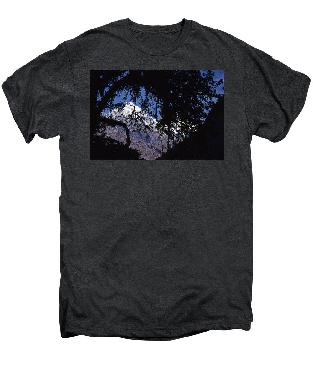 Langtang Men's Premium T-Shirt featuring the photograph Langtang by Patrick Klauss