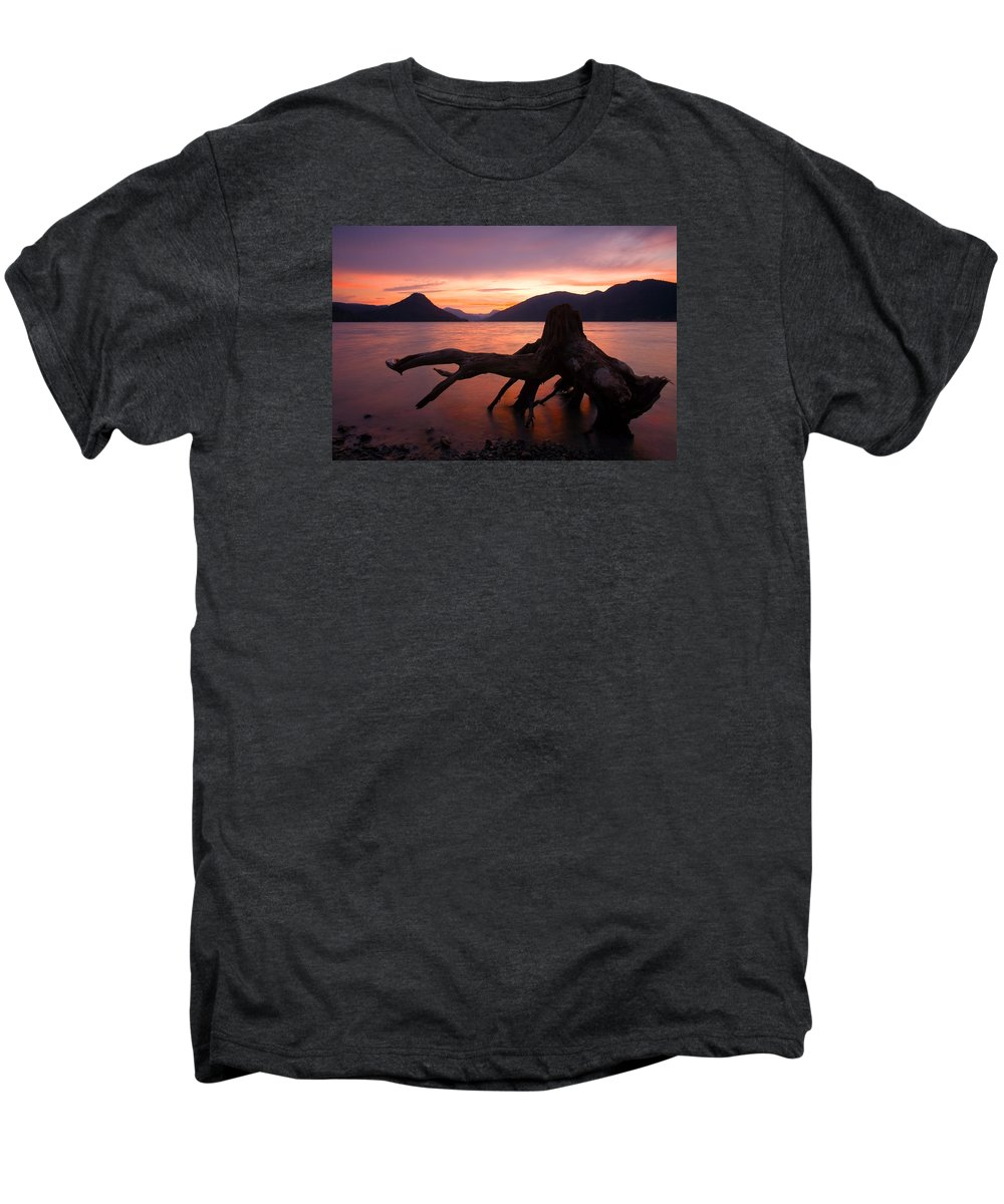 Stump Men's Premium T-Shirt featuring the photograph Left Behind by Mike Dawson