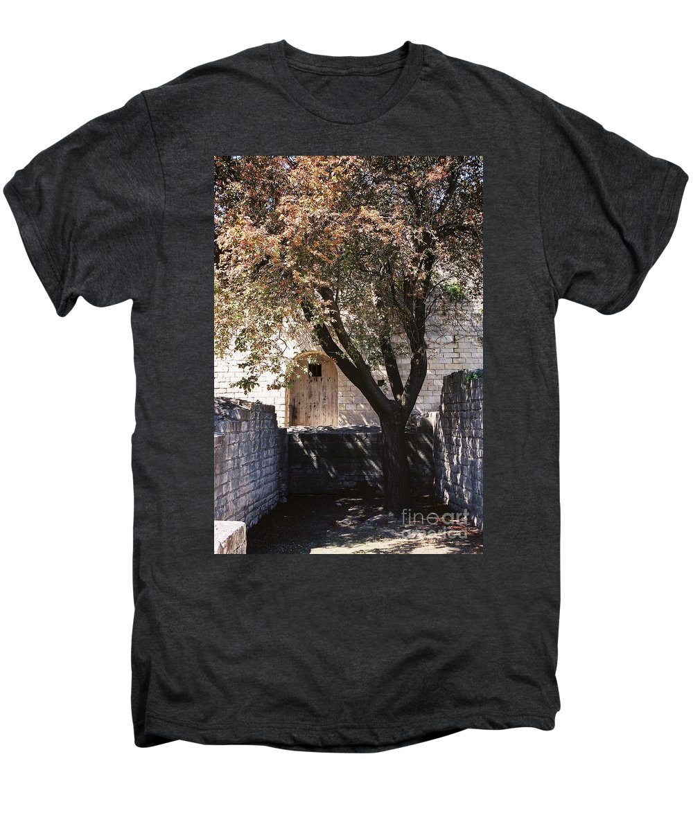 Life Men's Premium T-Shirt featuring the photograph Life And Death by Nadine Rippelmeyer