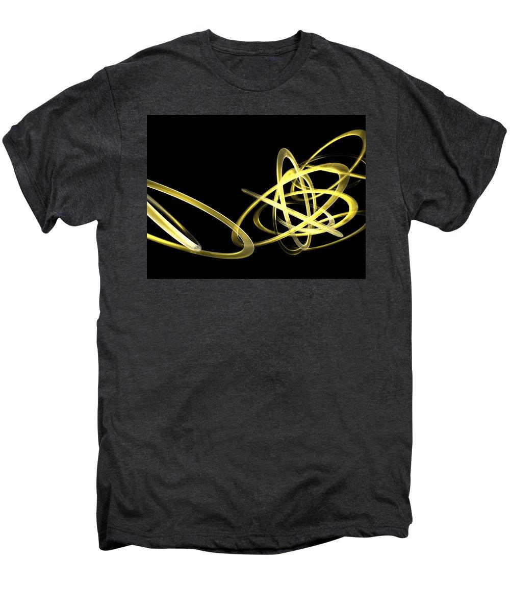 Yellow Men's Premium T-Shirt featuring the photograph Light Yellow by Scott Piers