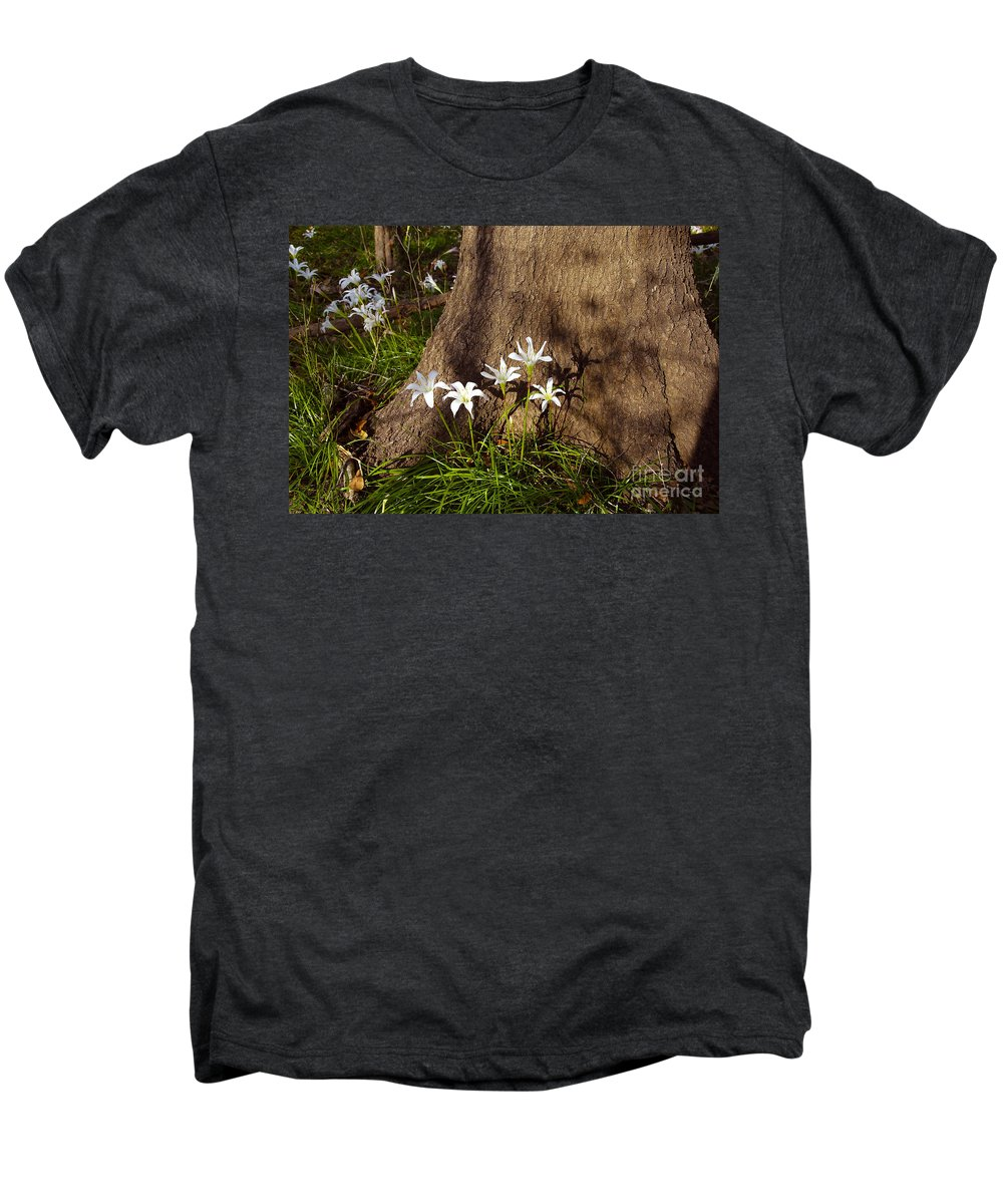 Atamasco Men's Premium T-Shirt featuring the photograph Lily's Atamasco by David Lee Thompson