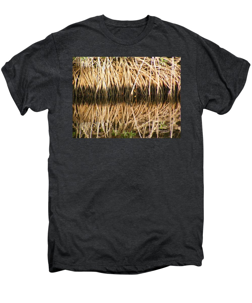 Plants Men's Premium T-Shirt featuring the photograph Little Feet by Ed Smith