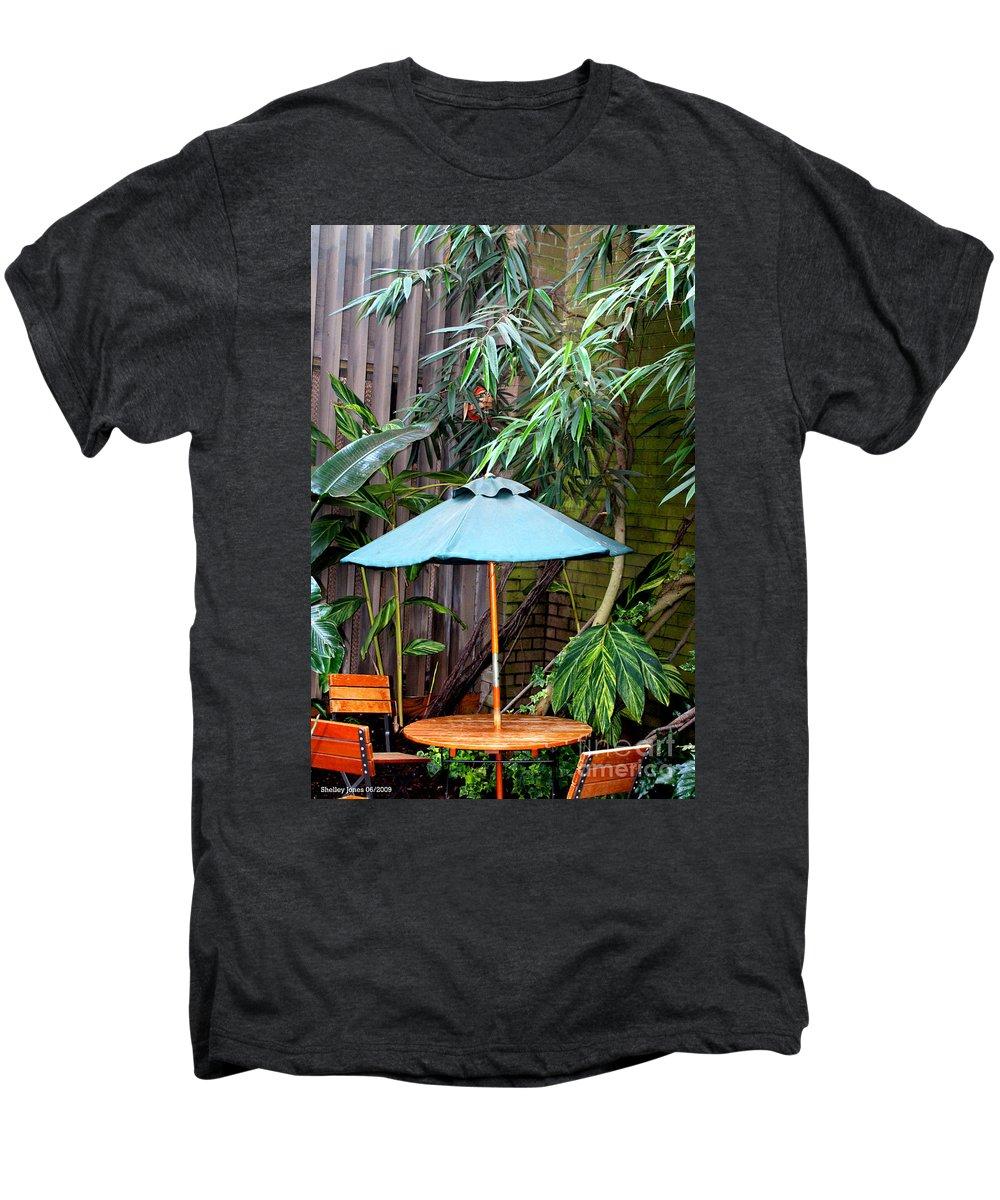 Photography Men's Premium T-Shirt featuring the photograph Little Oasis by Shelley Jones