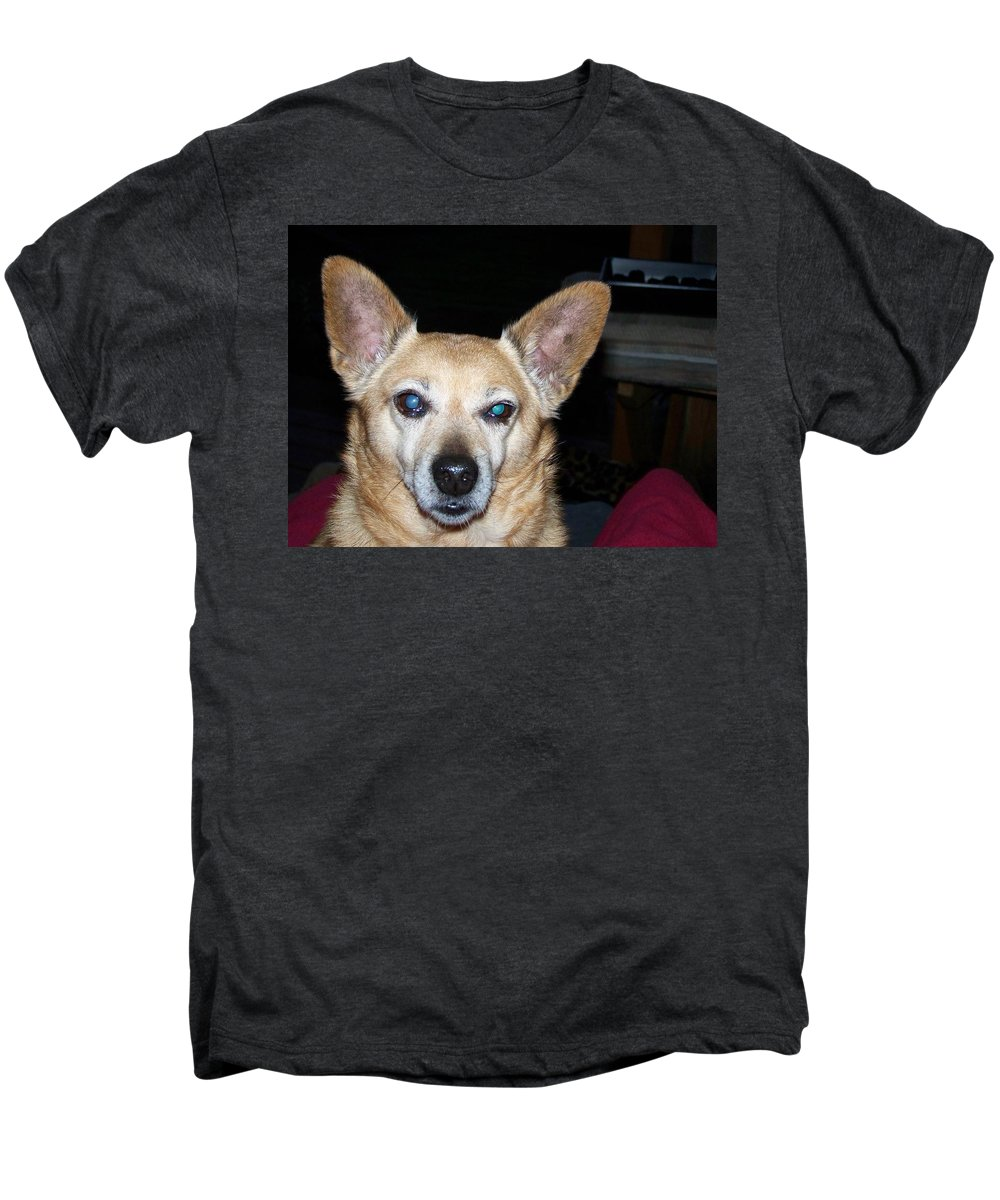Digital Artwork Men's Premium T-Shirt featuring the photograph Loyalty by Laurie Kidd