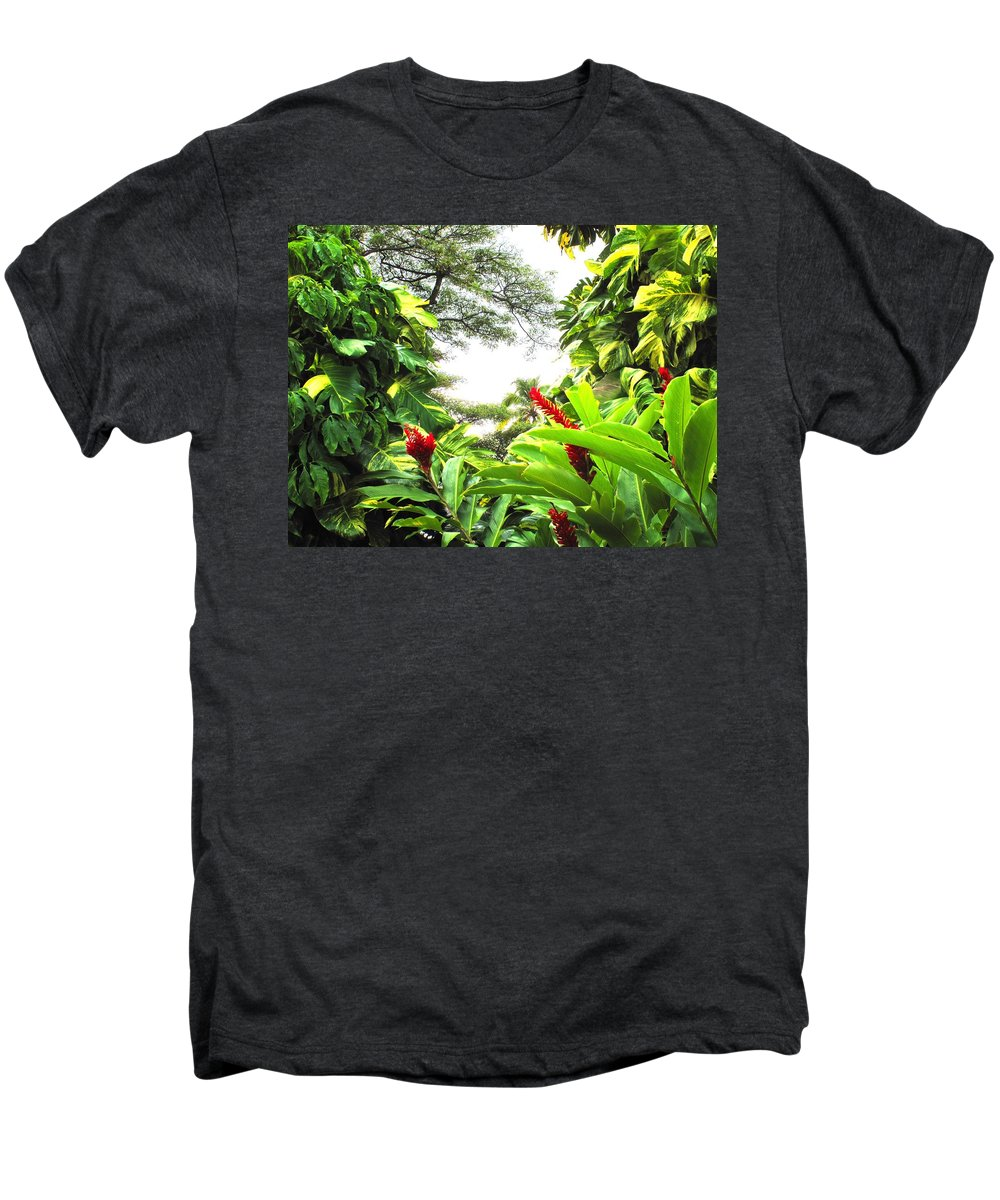 St Kitts Men's Premium T-Shirt featuring the photograph Lush by Ian MacDonald