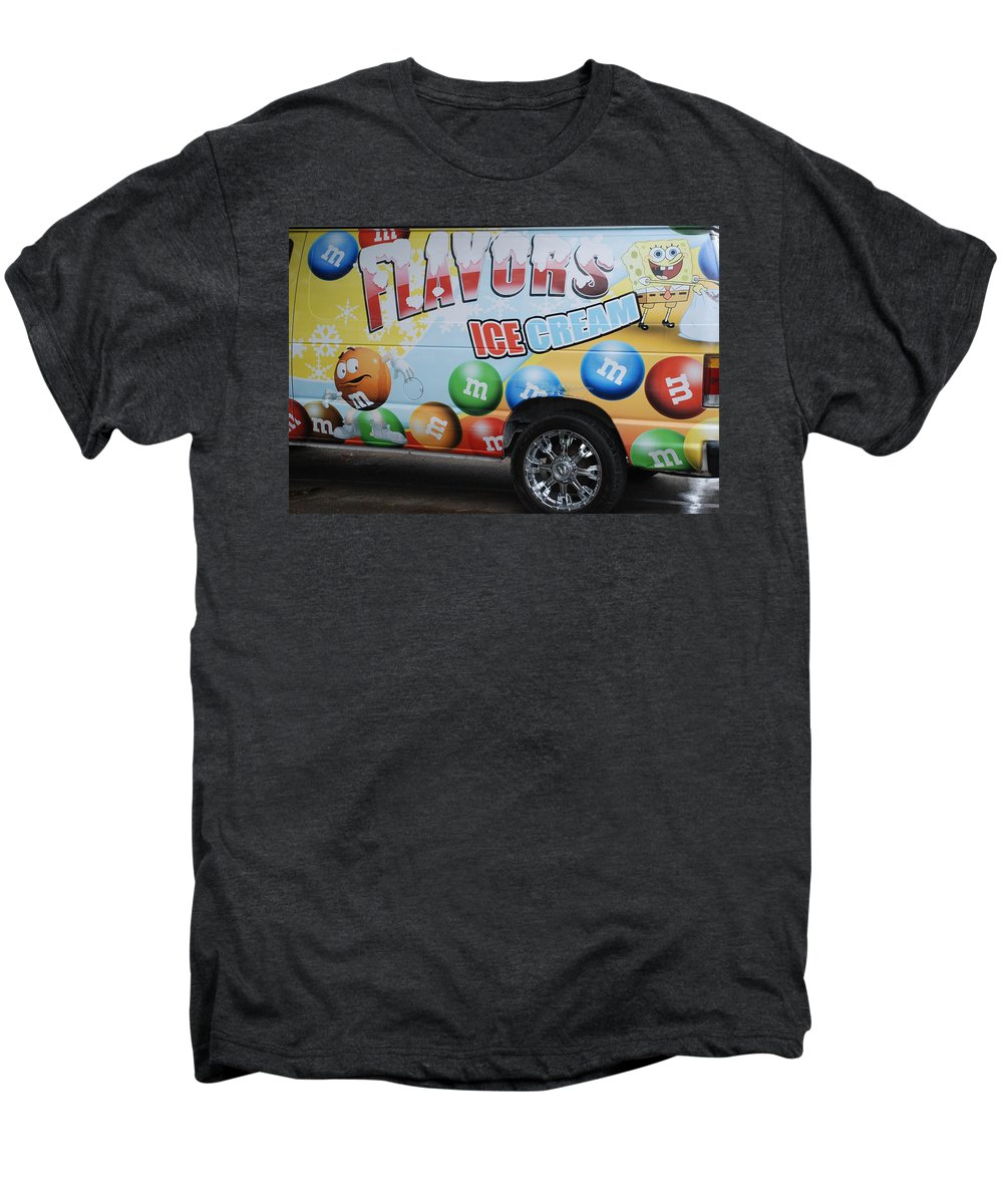 Sponge Bob Men's Premium T-Shirt featuring the photograph M And M Flavors For The Kids by Rob Hans