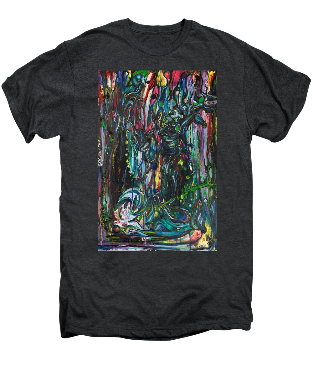 Surreal Men's Premium T-Shirt featuring the painting March Into The Sea by Sheridan Furrer