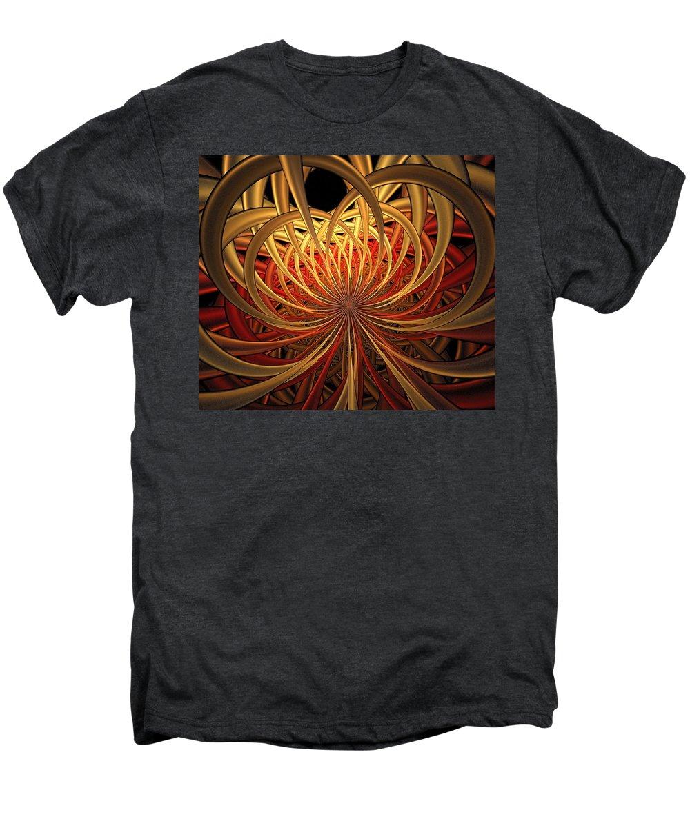 Digital Art Men's Premium T-Shirt featuring the digital art Marigold by Amanda Moore