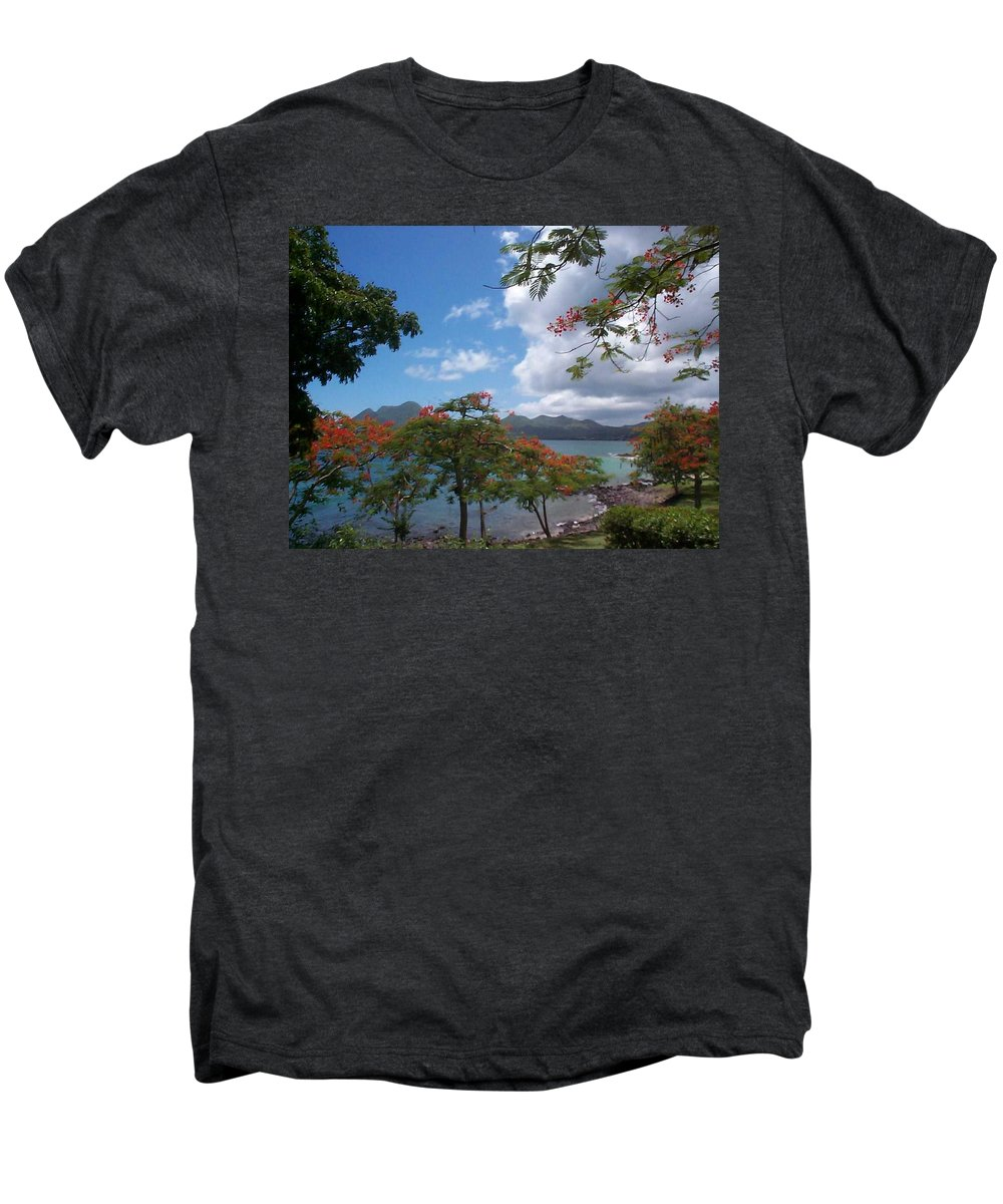Donation Men's Premium T-Shirt featuring the photograph Martinique by Mary-Lee Sanders