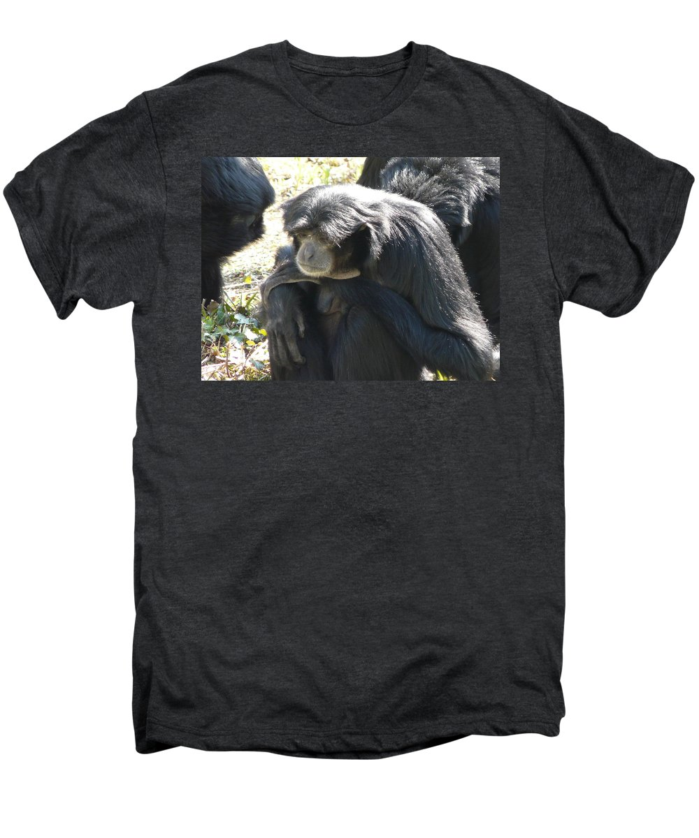 Animal Men's Premium T-Shirt featuring the photograph Melancholy by Valerie Ornstein
