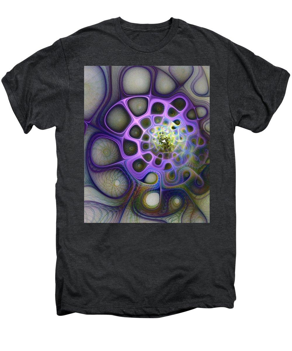Digital Art Men's Premium T-Shirt featuring the digital art Mindscapes by Amanda Moore