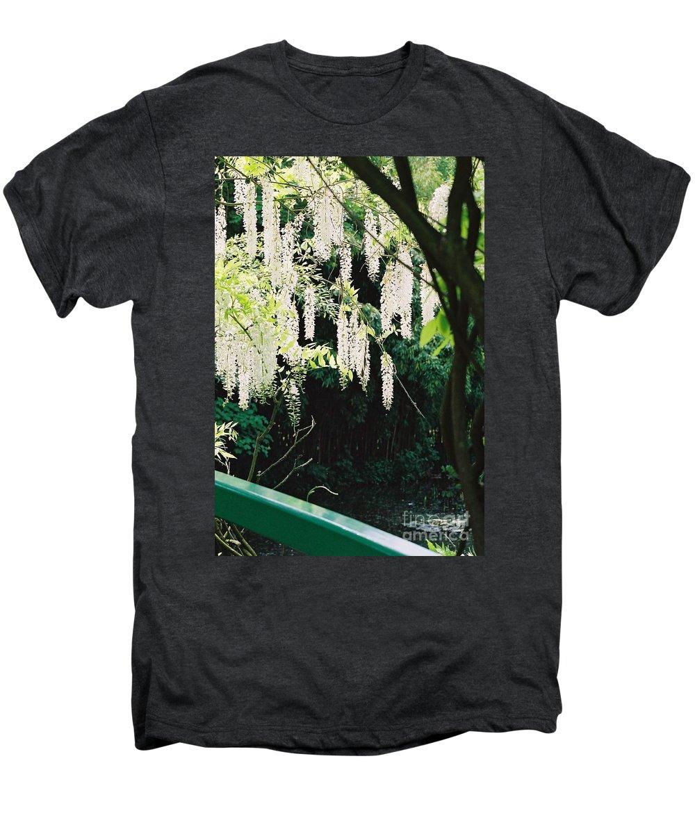 Monet Men's Premium T-Shirt featuring the photograph Monet's Garden Delights by Nadine Rippelmeyer