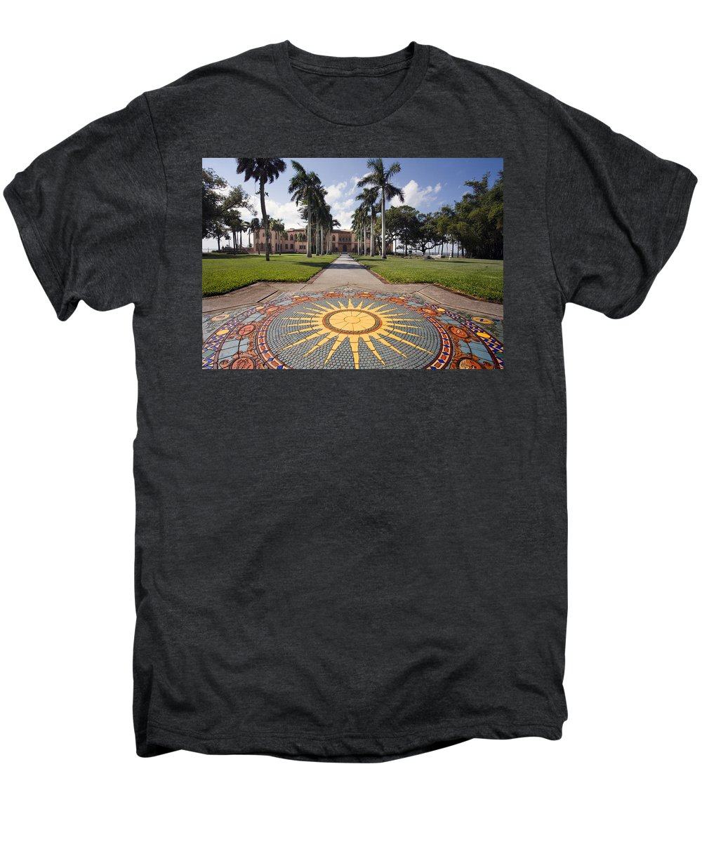 Mosaic Men's Premium T-Shirt featuring the photograph Mosaic At The Ca D by Mal Bray