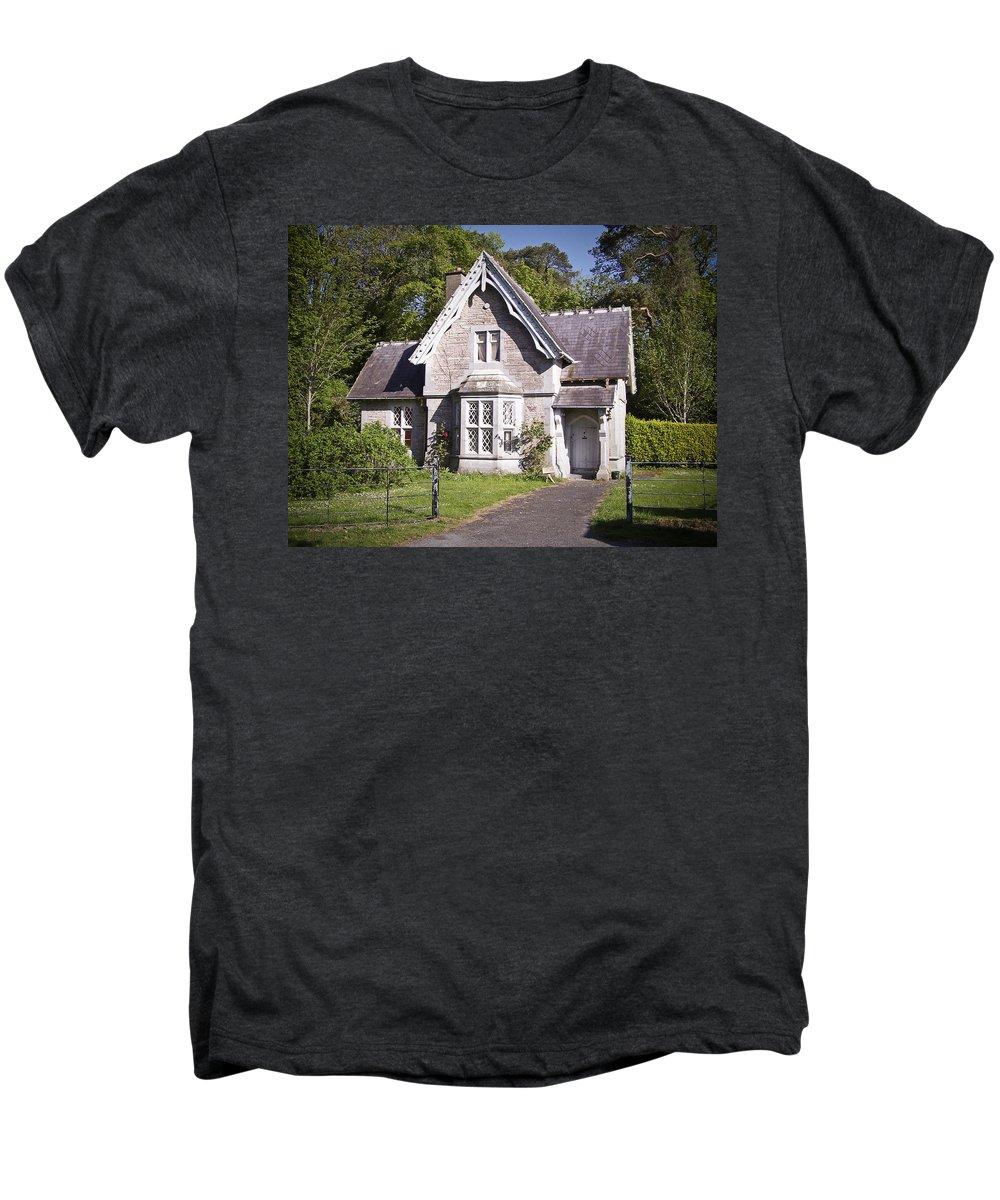Irish Men's Premium T-Shirt featuring the photograph Muckross Cottage Killarney Ireland by Teresa Mucha