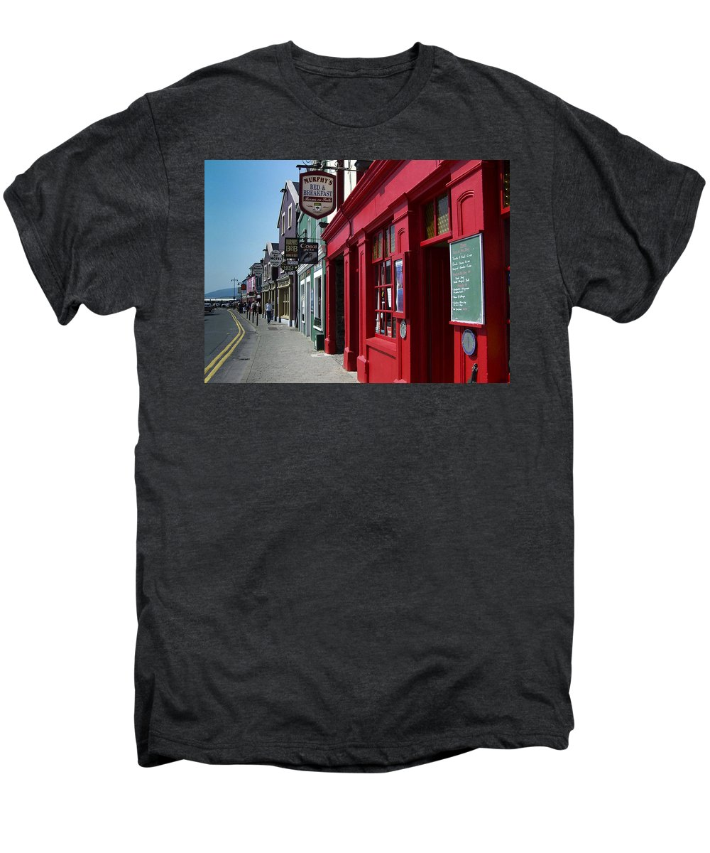 Irish Men's Premium T-Shirt featuring the photograph Murphys Bed And Breakfast Dingle Ireland by Teresa Mucha