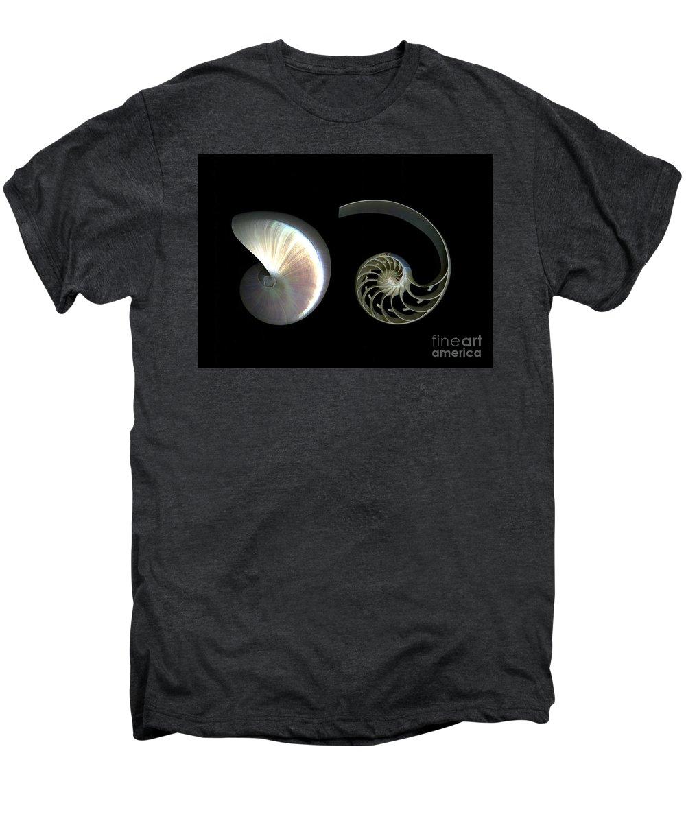 Nautilus Men's Premium T-Shirt featuring the photograph Nautilus Deconstructed by Christian Slanec