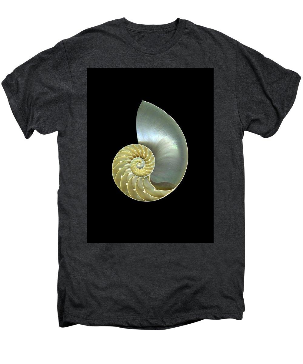 Slanec Men's Premium T-Shirt featuring the photograph Nautilus Nr.1 by Christian Slanec