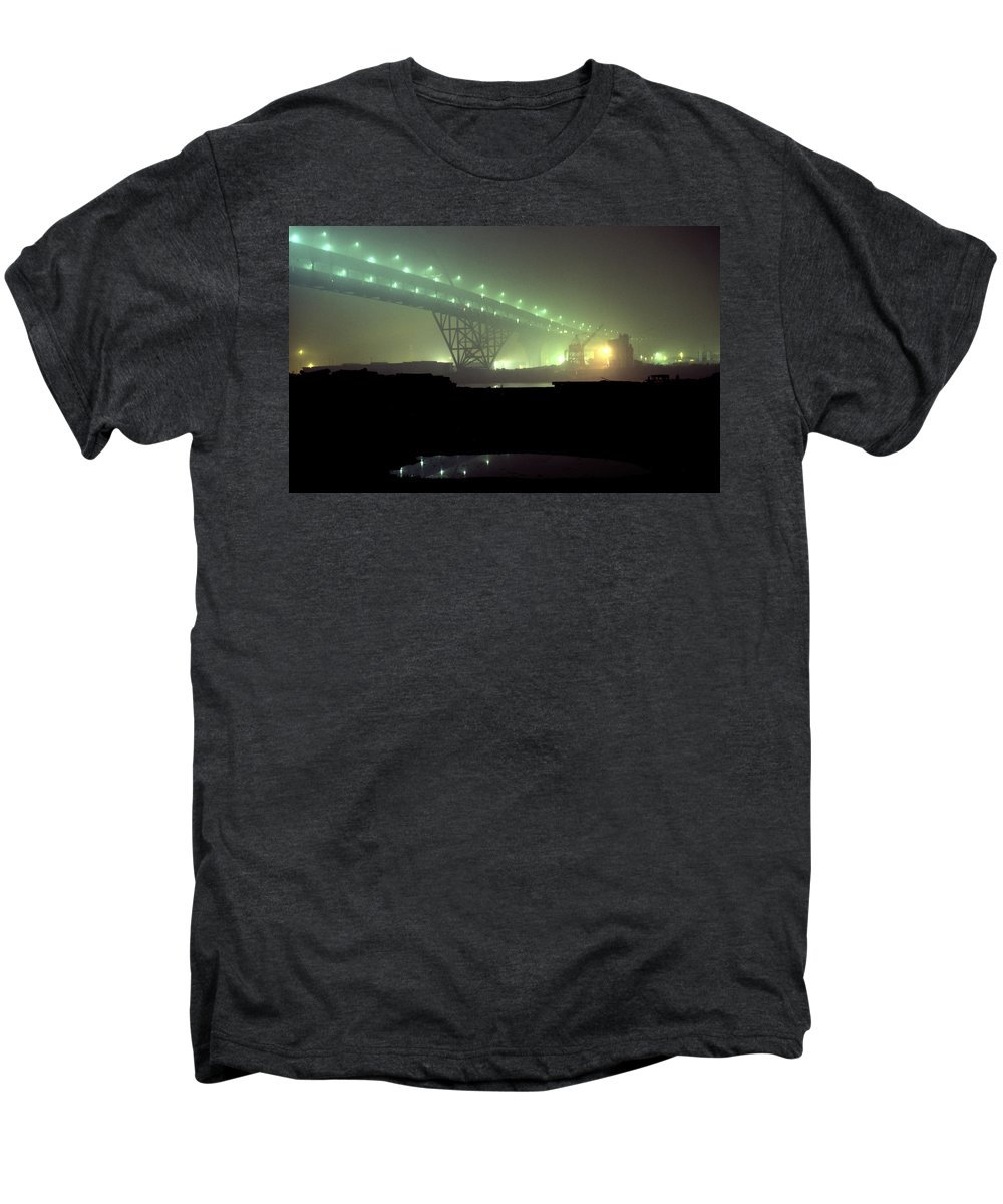 Night Photo Men's Premium T-Shirt featuring the photograph Nightscape 3 by Lee Santa