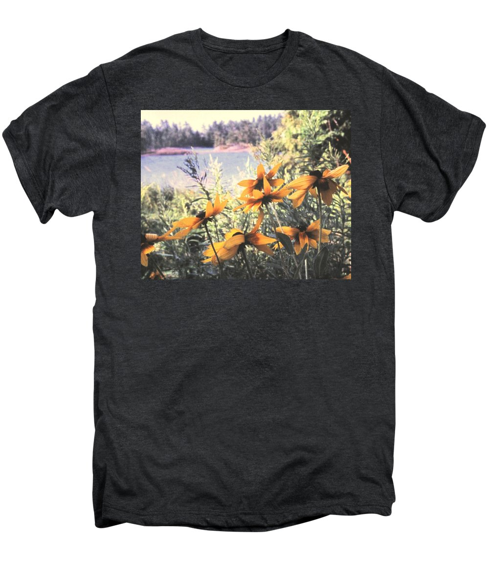 North Channel Men's Premium T-Shirt featuring the photograph North Channel Beauties by Ian MacDonald