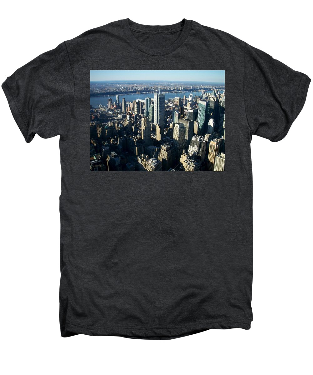 Nyc Men's Premium T-Shirt featuring the photograph Nyc 1 by Anita Burgermeister