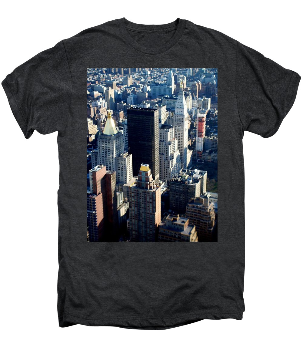 Nyc Men's Premium T-Shirt featuring the photograph Nyc 2 by Anita Burgermeister