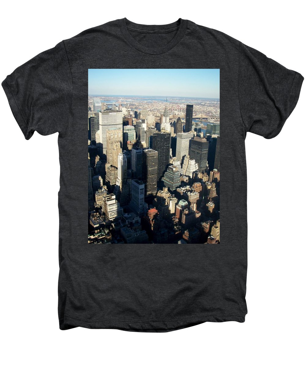 Nyc Men's Premium T-Shirt featuring the photograph Nyc 3 by Anita Burgermeister