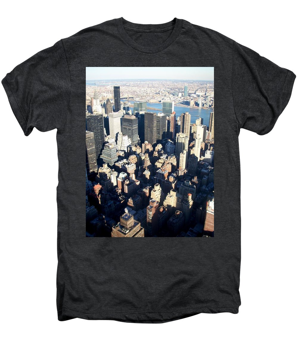 Nyc Men's Premium T-Shirt featuring the photograph Nyc 4 by Anita Burgermeister