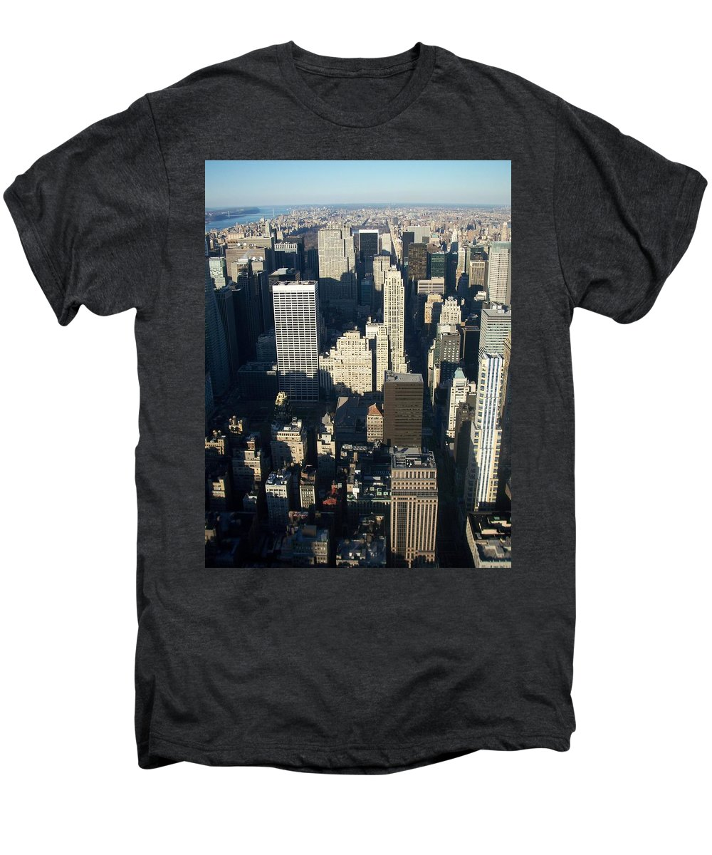 Nyc Men's Premium T-Shirt featuring the photograph Nyc 5 by Anita Burgermeister