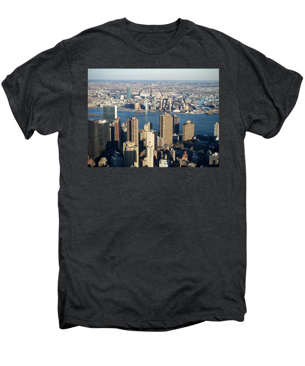 Nyc Men's Premium T-Shirt featuring the photograph Nyc 6 by Anita Burgermeister