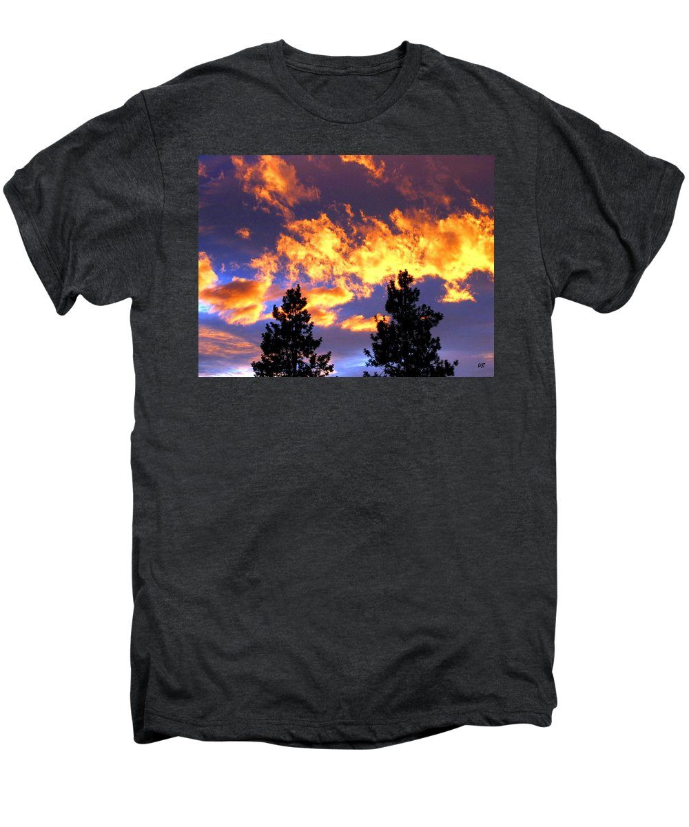 Sunset Men's Premium T-Shirt featuring the photograph Okanagan Sunset by Will Borden