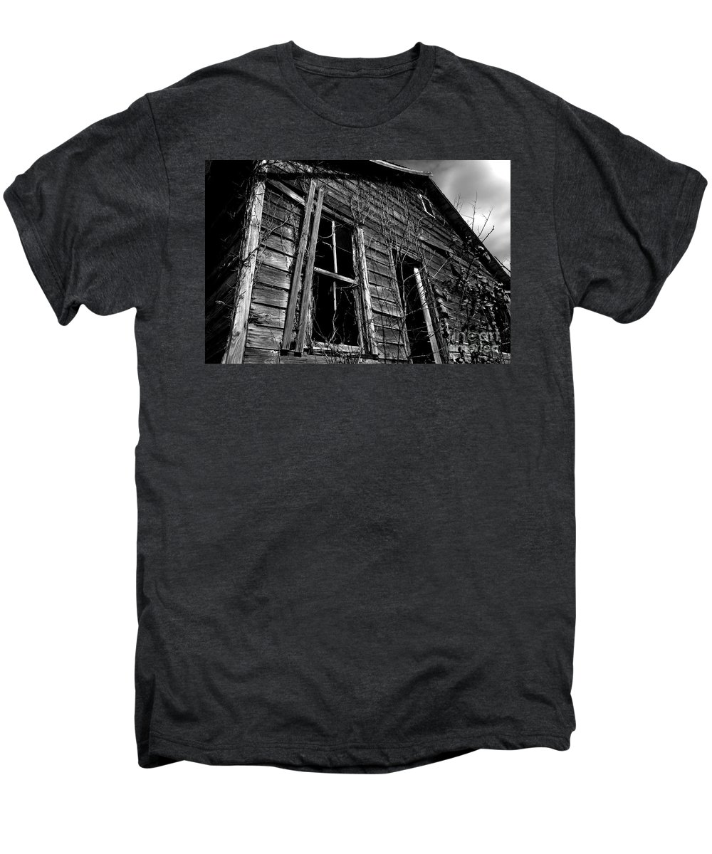 old House Men's Premium T-Shirt featuring the photograph Old House by Amanda Barcon