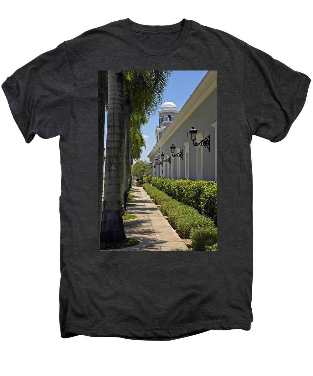 Travel Men's Premium T-Shirt featuring the photograph Old San Juan Puerto Rico by Tito Santiago
