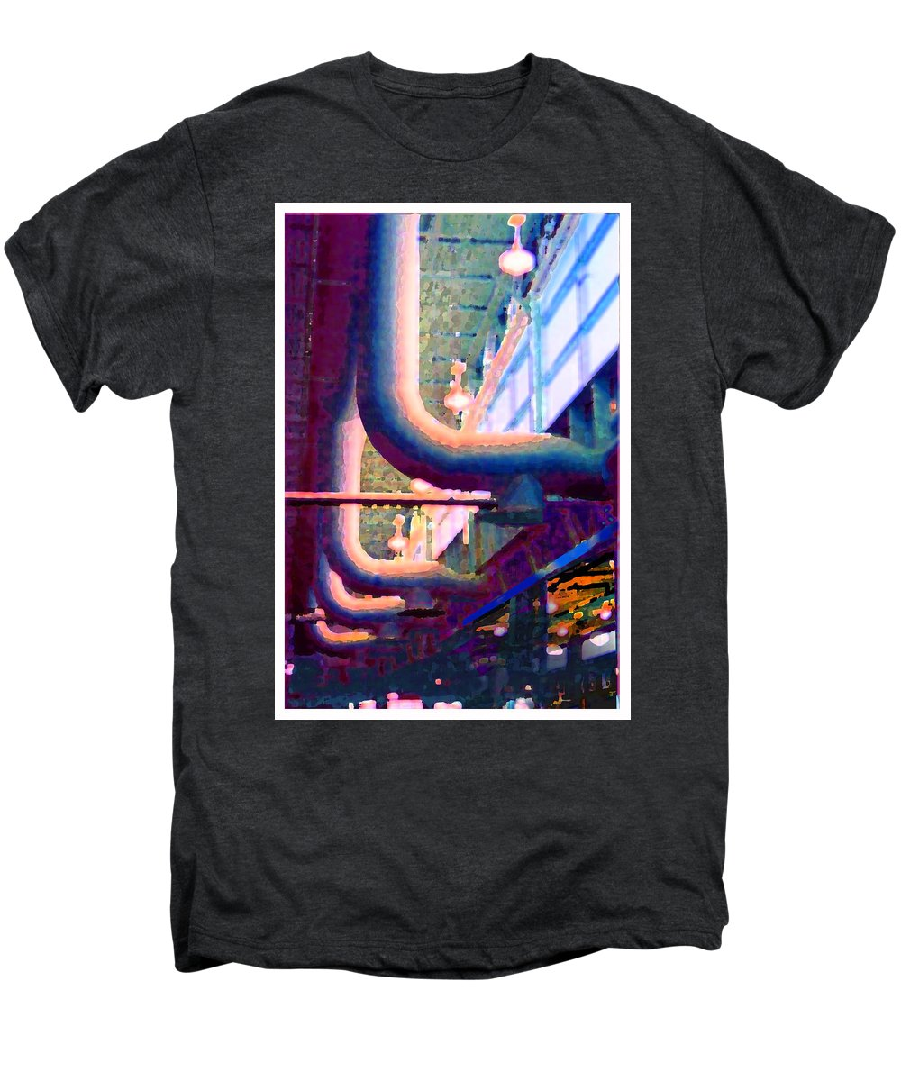 Abstract Men's Premium T-Shirt featuring the photograph panel one from Star Factory by Steve Karol