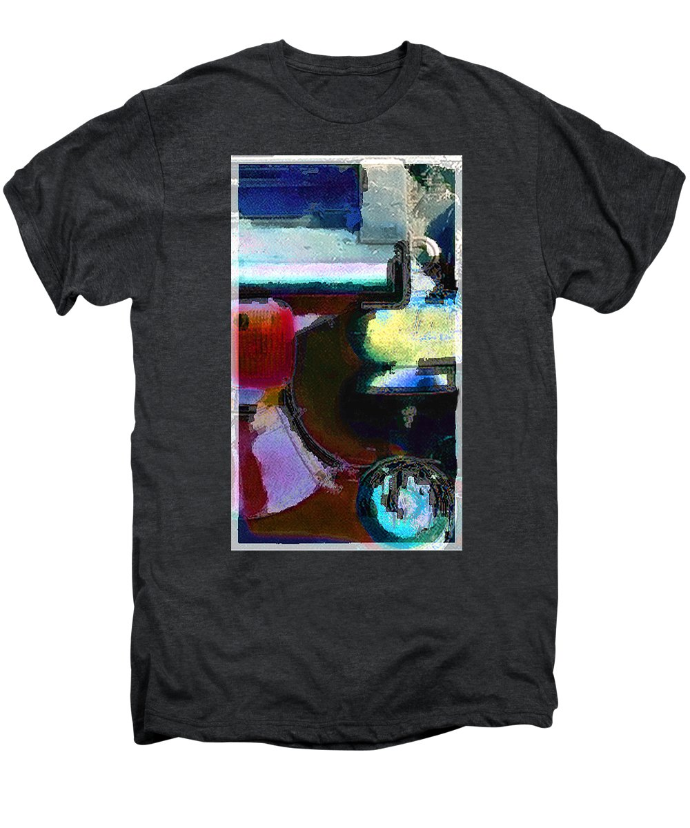 Abstract Men's Premium T-Shirt featuring the photograph panel two from Centrifuge by Steve Karol