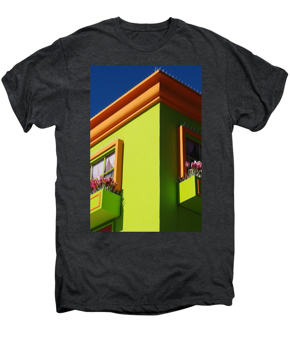 Sky Men's Premium T-Shirt featuring the photograph Pastle Corners by Rob Hans