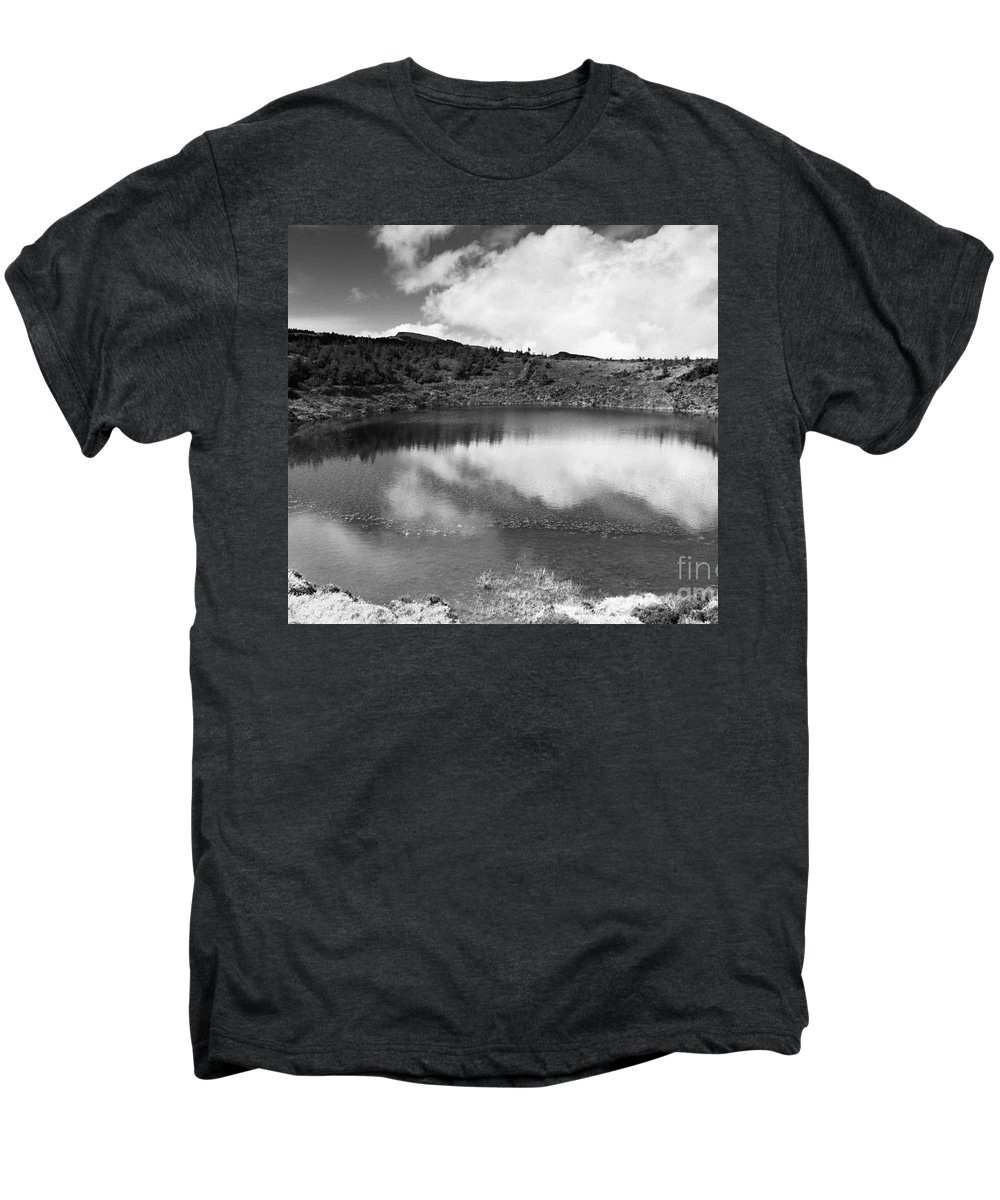 Lake Men's Premium T-Shirt featuring the photograph Pau-pique Lake by Gaspar Avila