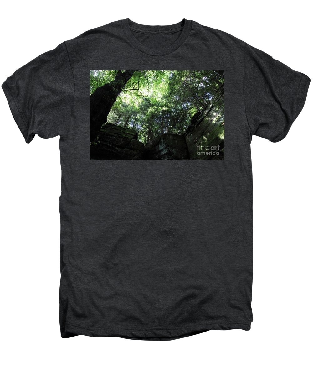 Nature Men's Premium T-Shirt featuring the photograph Peace All Around by Amanda Barcon