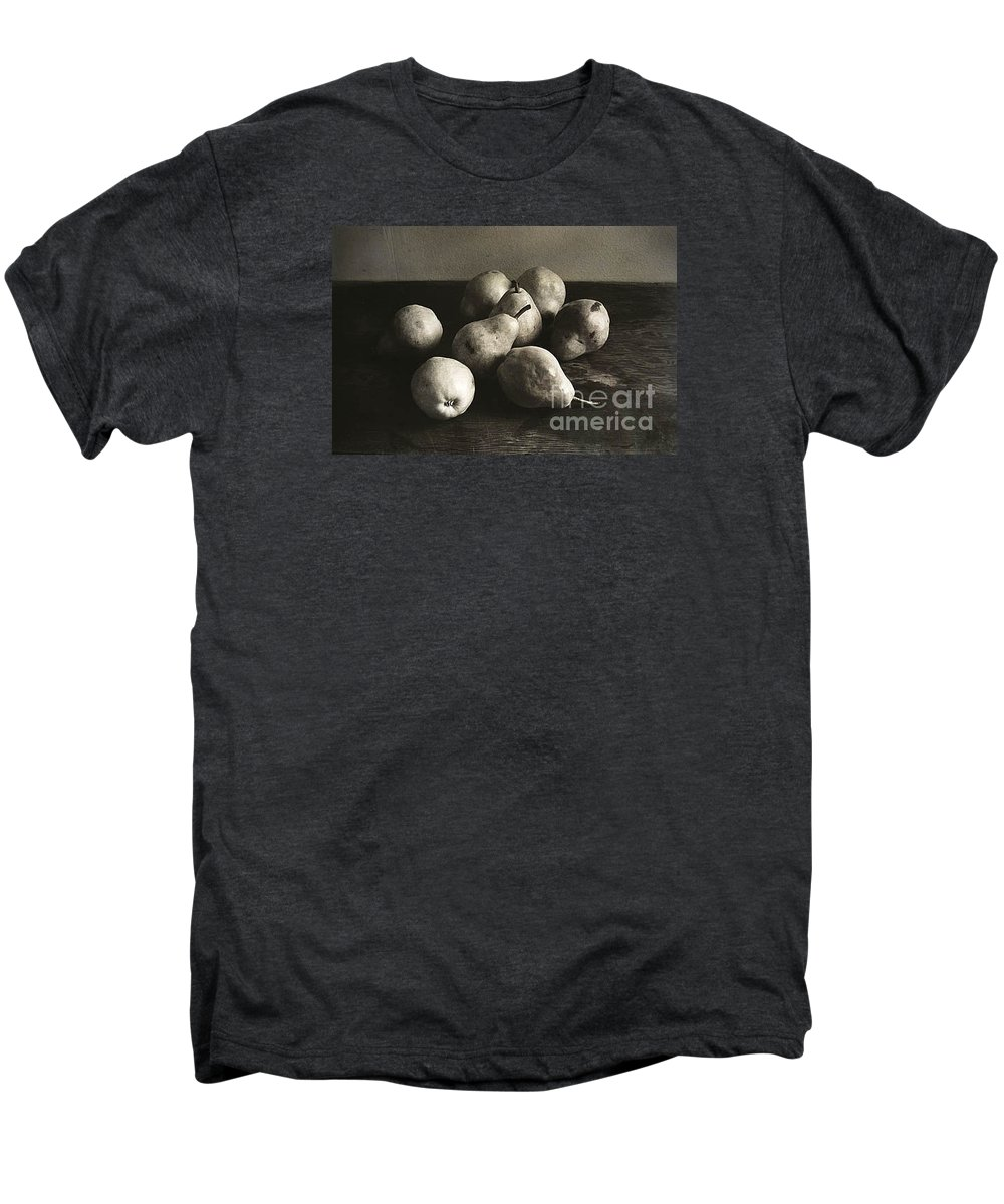 Pears Men's Premium T-Shirt featuring the photograph Pears by Michael Ziegler