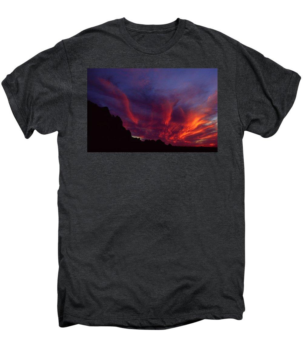 Arizona Men's Premium T-Shirt featuring the photograph Phoenix Risen by Randy Oberg