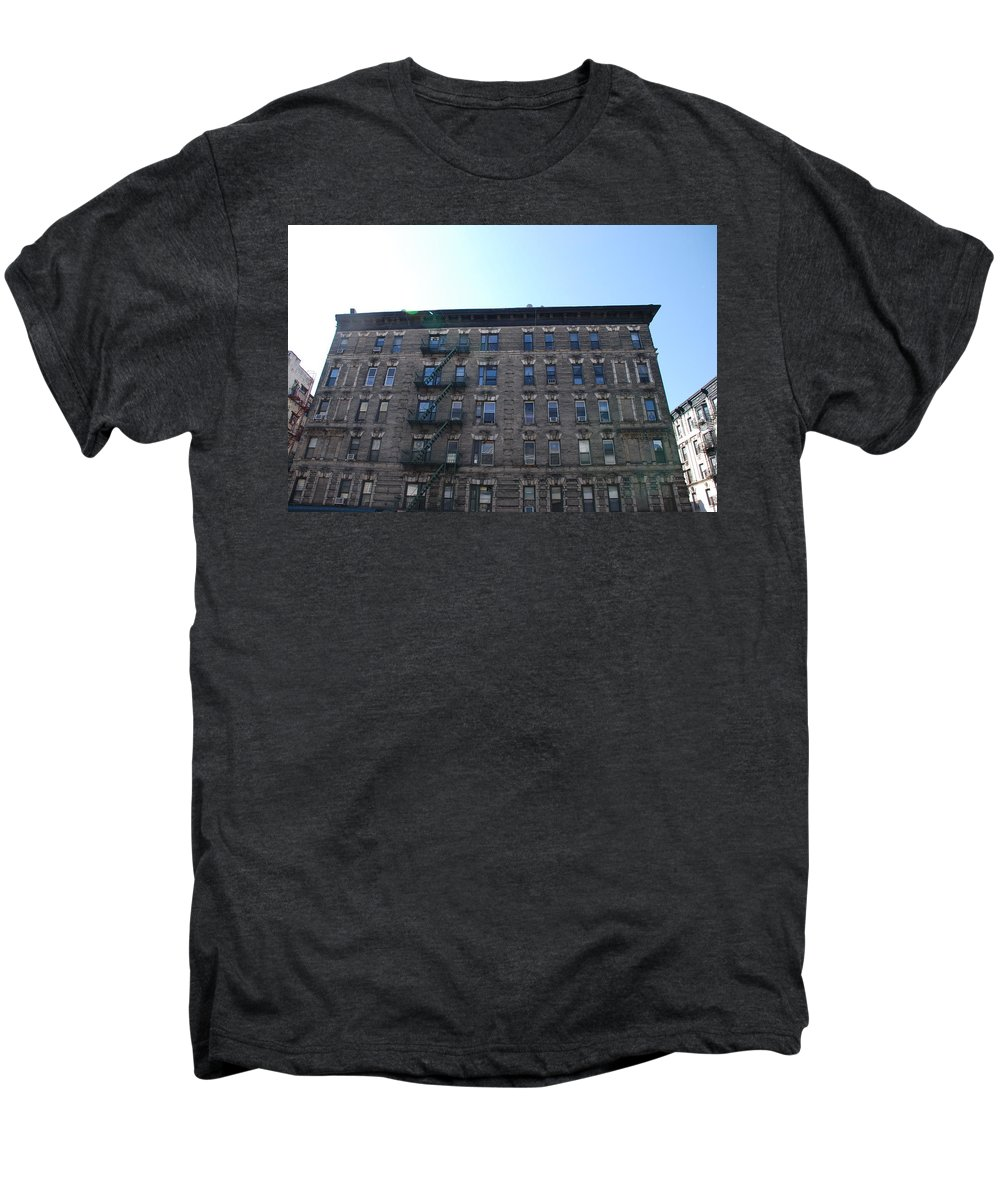 Architecture Men's Premium T-Shirt featuring the photograph Physical Graffitti by Rob Hans
