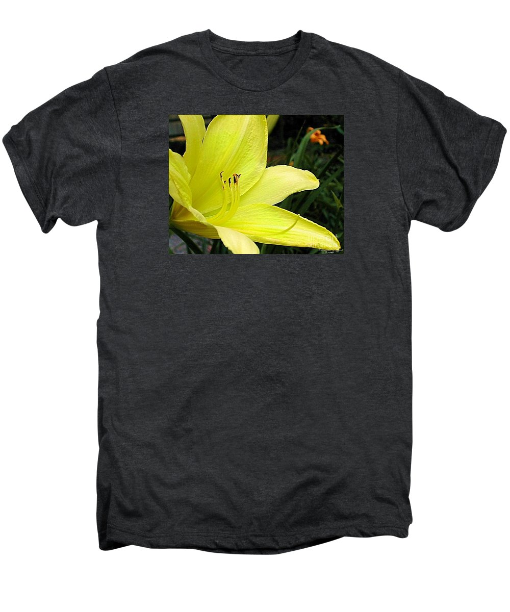 Fine Art Photography Men's Premium T-Shirt featuring the photograph Pure Sunshine by Patricia Griffin Brett