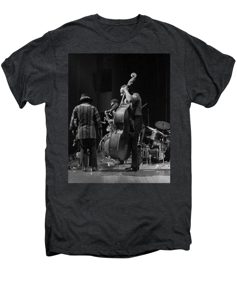 Rahsaan Roland Kirk Men's Premium T-Shirt featuring the photograph Rahsaan Roland Kirk 2 by Lee Santa