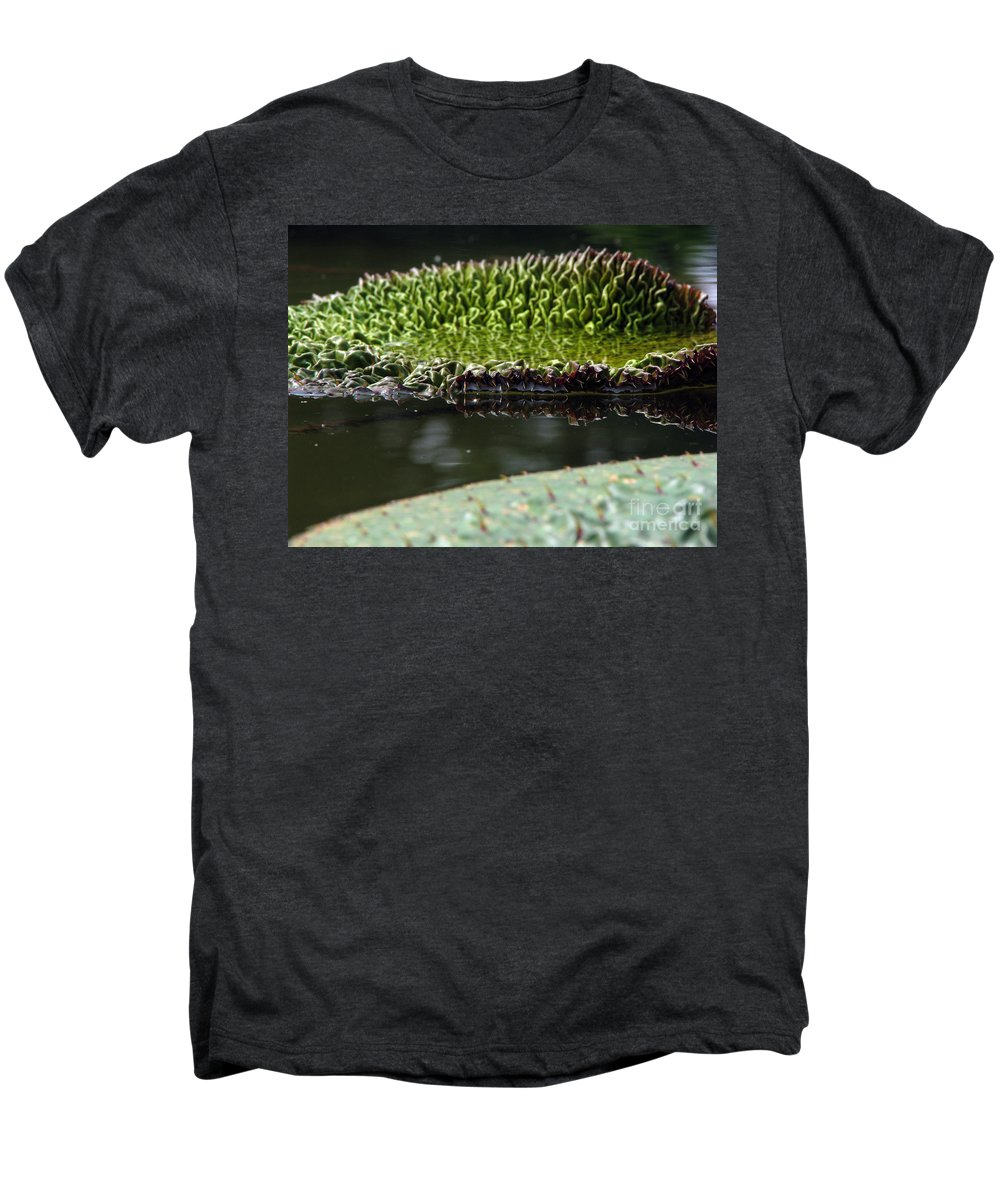 Lillypad Men's Premium T-Shirt featuring the photograph Ready To Spread by Amanda Barcon