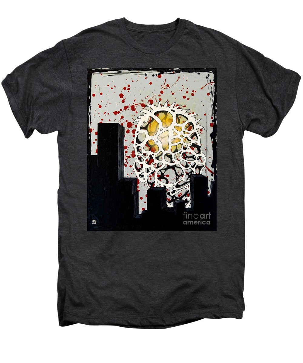Energy Men's Premium T-Shirt featuring the painting Rise by A 2 H D