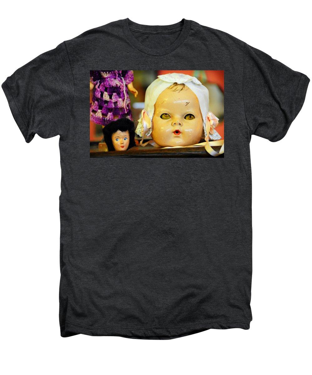 Antique Men's Premium T-Shirt featuring the photograph Rumormongers by Skip Hunt