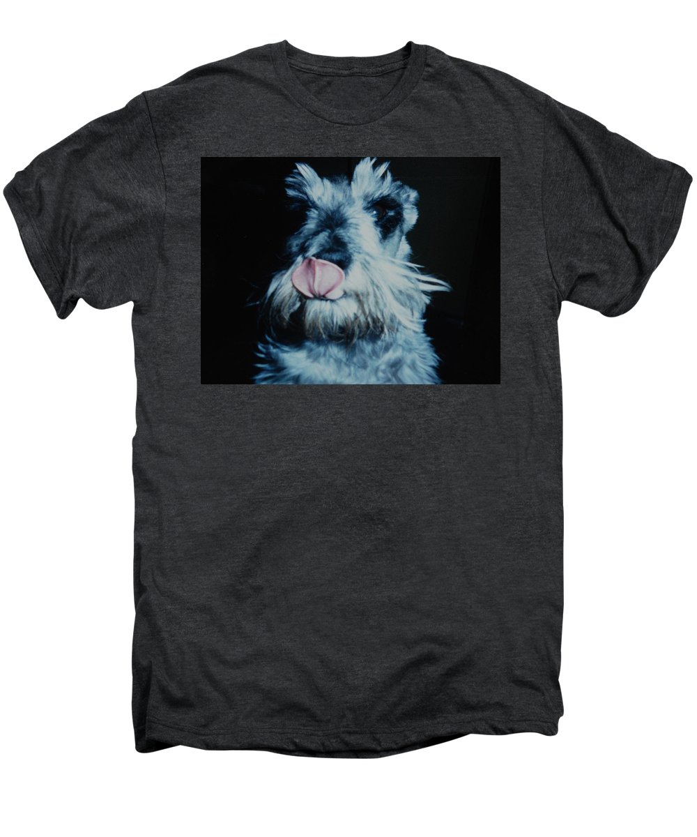 Dogs Men's Premium T-Shirt featuring the photograph Sam The Fat Cow by Rob Hans