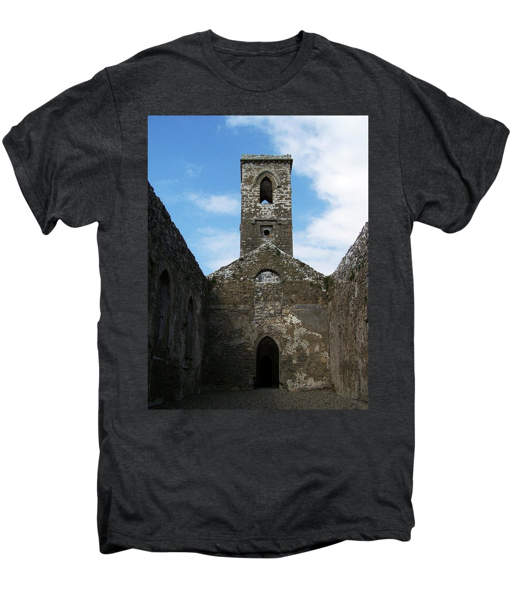 Ireland Men's Premium T-Shirt featuring the photograph Sanctuary Fuerty Church Roscommon Ireland by Teresa Mucha